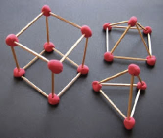 3d forms math at home How to make 3d shapes
